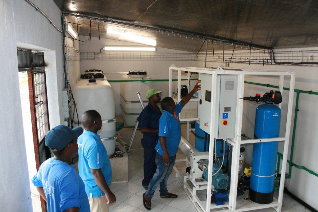 Zanzibar desalination Plant