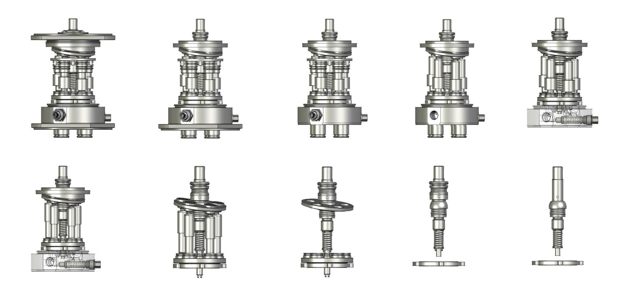APPR pump assembling